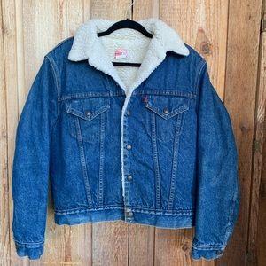 Levi's-Vintage Sherpa Jean Jacket